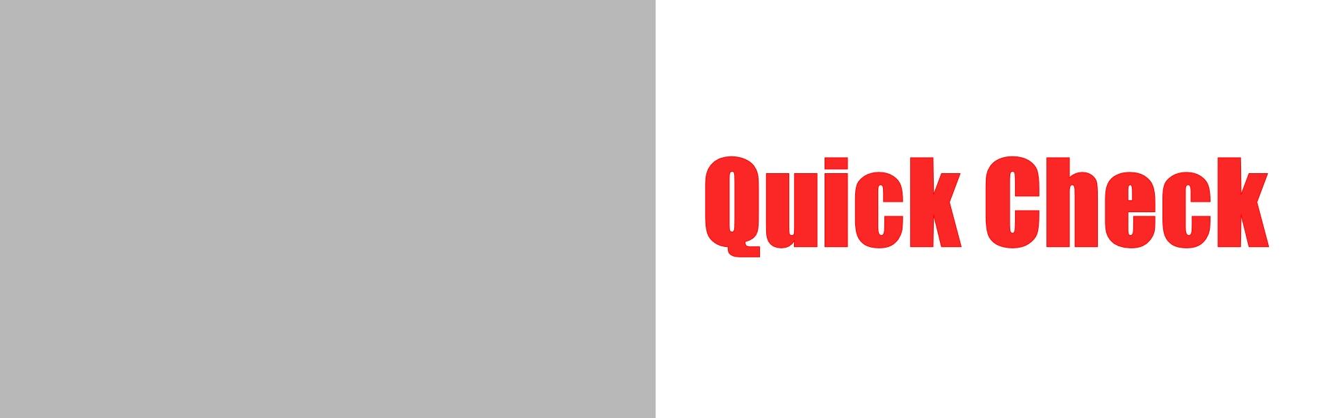 QuickCheckの文字画像