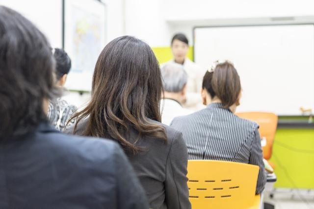 企業説明会の写真