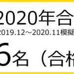 2020年合格実績306名